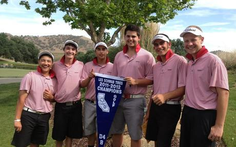 2012 VOL Men's Golf Champions